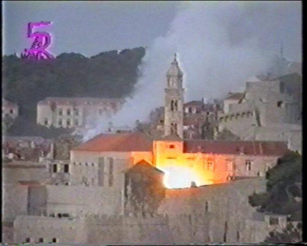 Dubrovnik in 1991