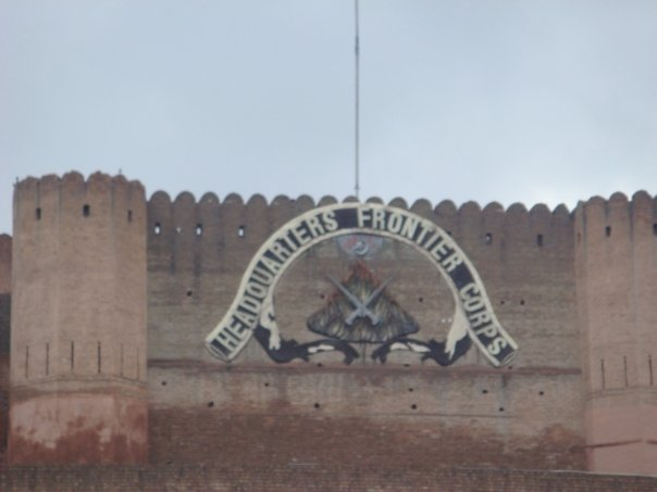 Headquarters of the Frontier Corps in Peshawar, Pakistan