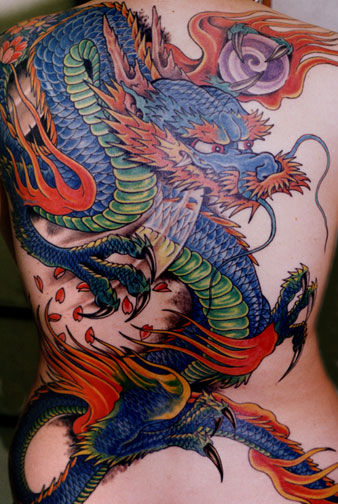 great dragoon tattoo