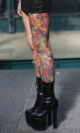 London Legs Tattoo