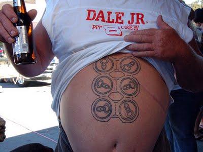 NASCAR tattoo