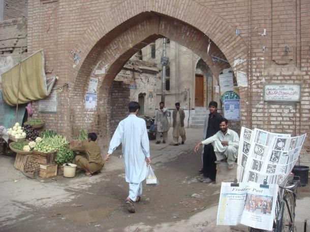 peshawar pakistan old market