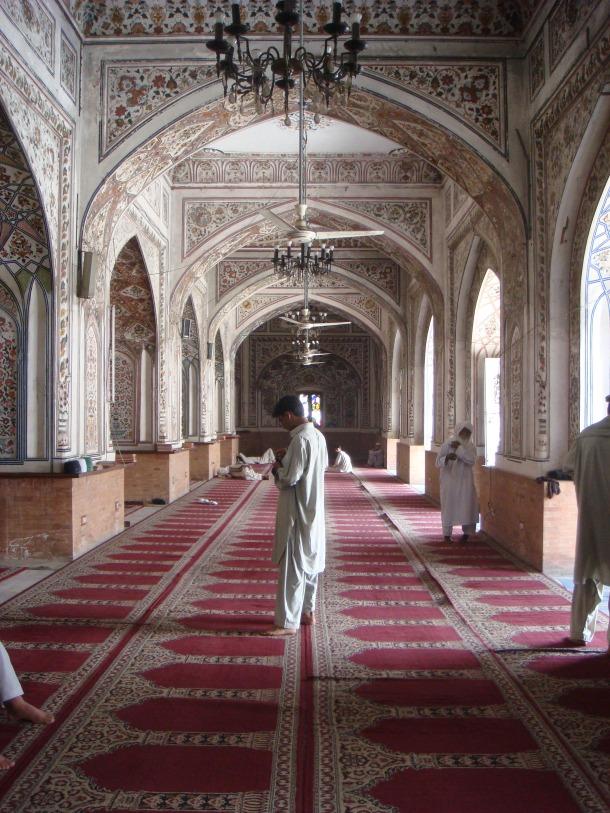 qasim ali khan mosque peshawar
