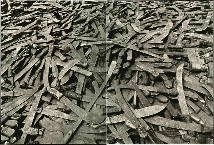 rwanda genocide machete. Machetes used in the Rwandan