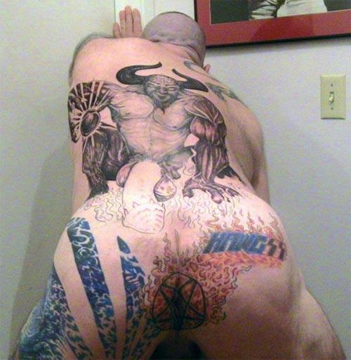 scariest tattoo ever