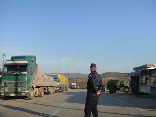 Serbia border crossing