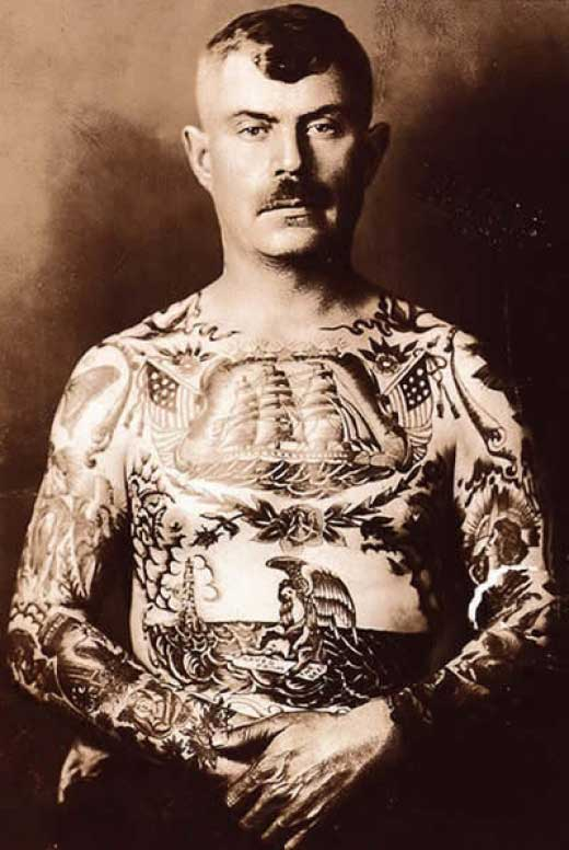 Pretty good vintage tattoos, huh?