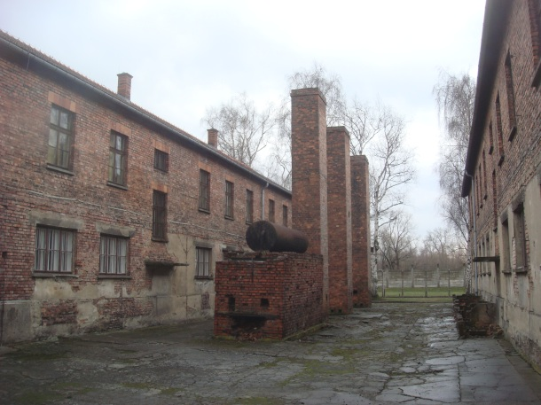 Auschwitz blocks and boiler