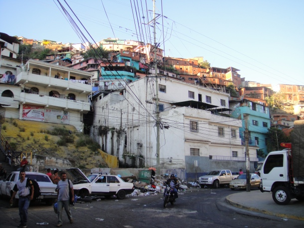 The barrio in Caracas