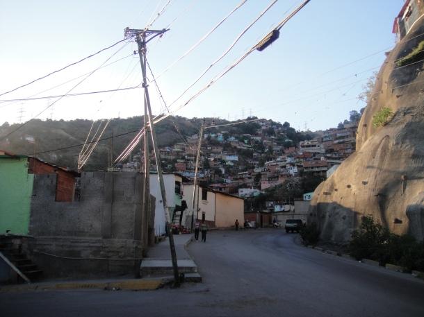 The Caracas barrio