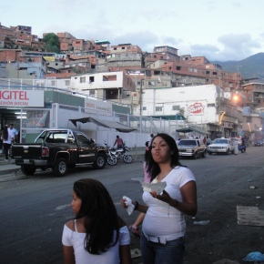 The Barrios Of Caracas, Venezuela