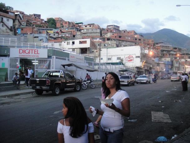 Inside the barrios of Caracas