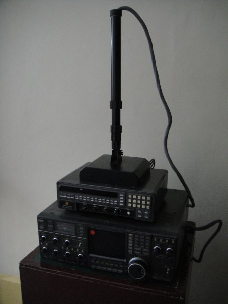 Some of the equipment used for tracking Pablo Escobar
