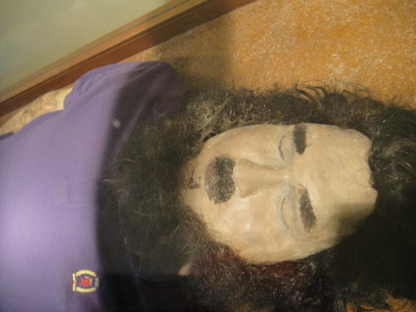 Pablo Escobar death mask