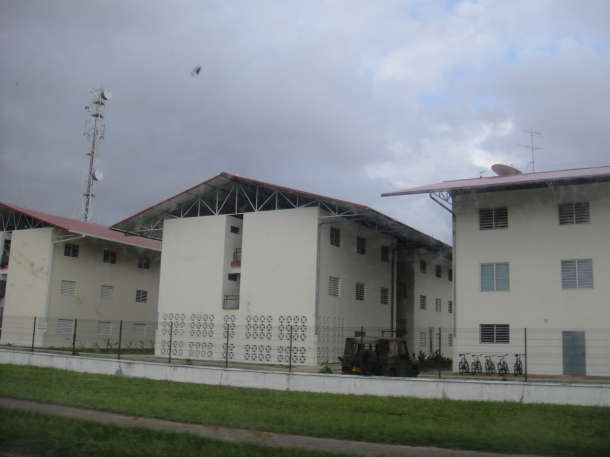 Military Barracks in Kourou, French Guiana