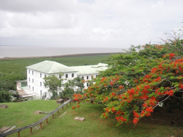 Ministry of Defense in Cayenne, French Guiana