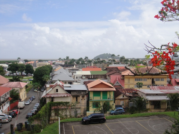 View of Cayenne, French Guiana
