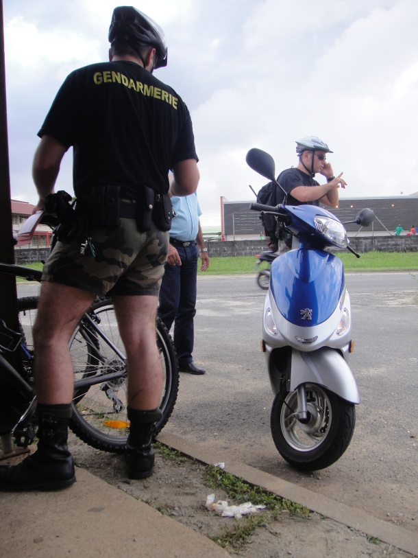 The police in French Guiana