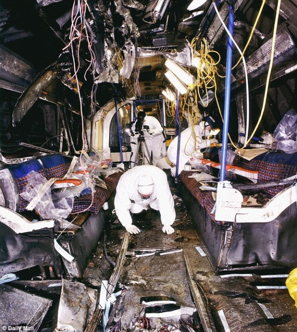 7/7 Bombing inside Tube car