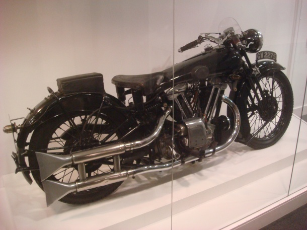 T. E. Lawrence's Brough Superior SS100 Motorcycle