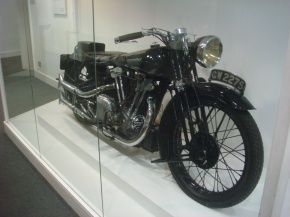 T. E. Lawrence's Brough Superior SS100 Motorcycle, 1932