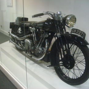 T. E. Lawrence's Brough Superior SS100 Motorcycle,1932