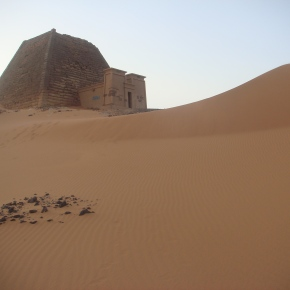 The Nubian Pyramids Of Meroe, Sudan