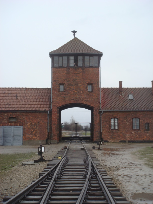 The death tower at Birkenau