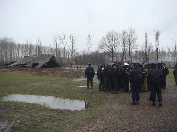 Israelis visiting Birkenau