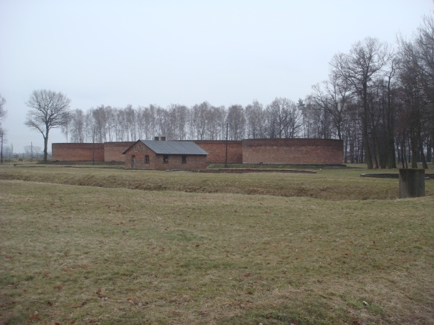 Sewage treatment facility at Birkenau