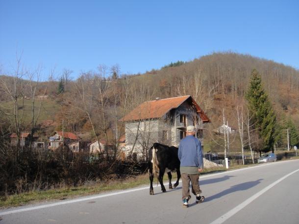 M-5 in Bosnia - East Sarajevo - Republic of Srpska - Sjetlina - Podgrab - Praca