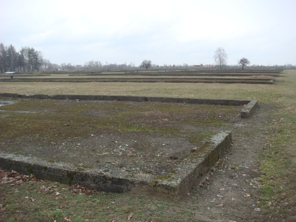 Canada warehouse section of Birkenau