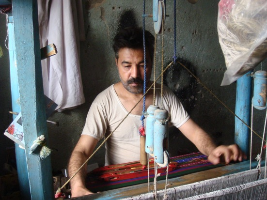 rug maker in Herat