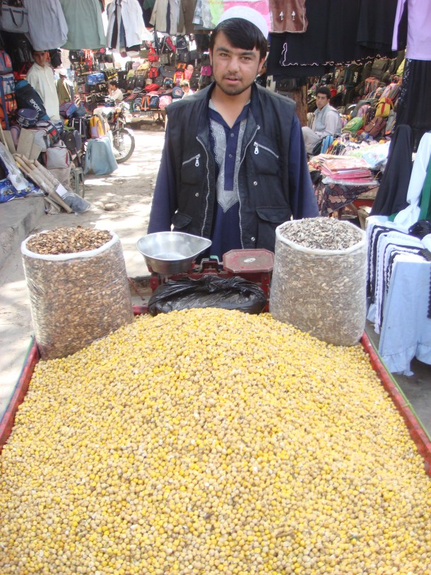 nut market in Herat
