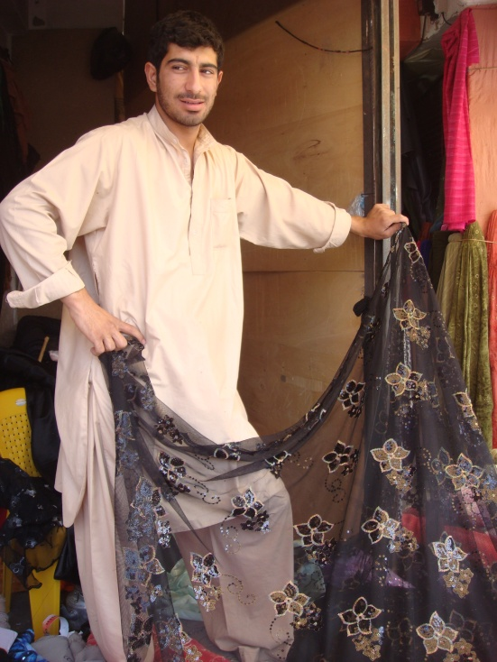 cloth dealer in herat afghanistan