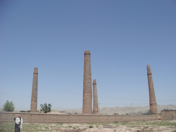 Minarets of Sultan Baiqara