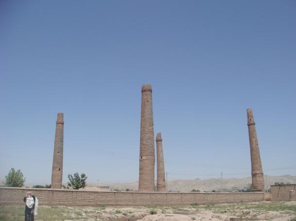 Minarets of Sultan Baiqara