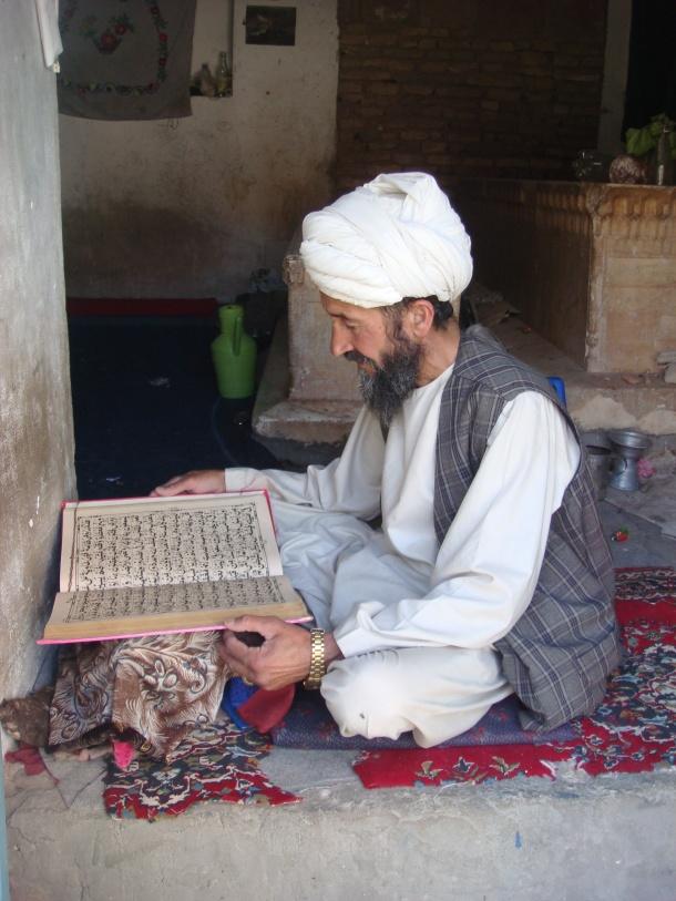 sufi shrine of Gazar Gah