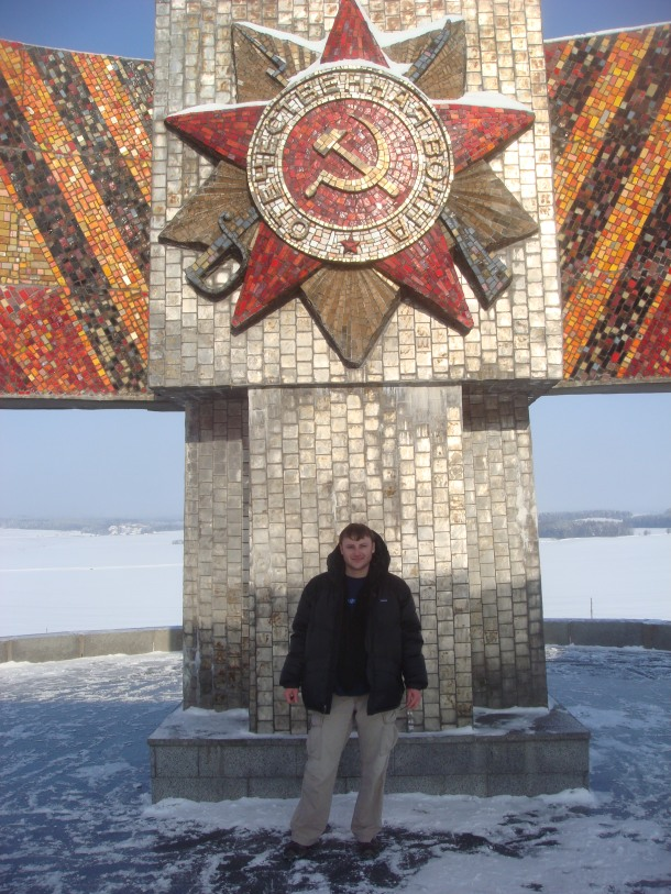 Justin Ames at Mound of Glory, Belarus