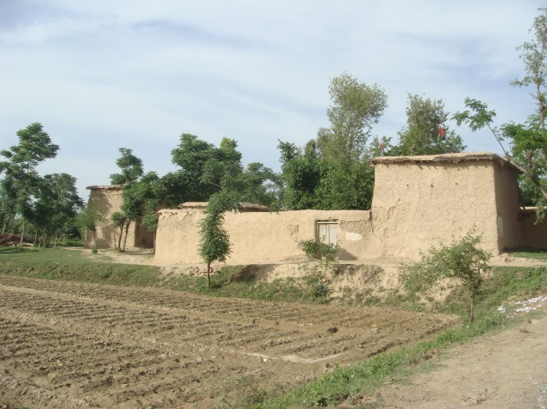 Pakistan countryside around Peshawar