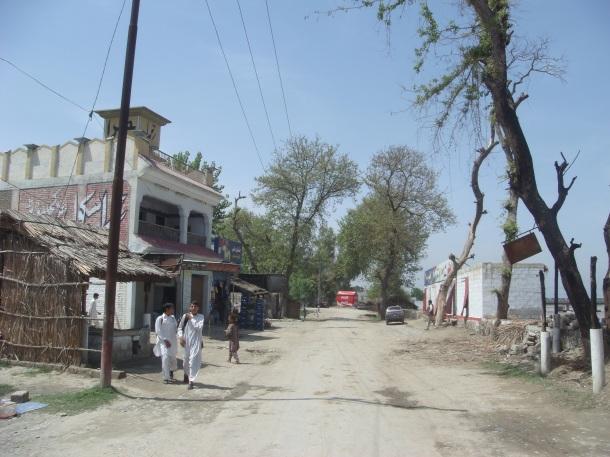 Pakistan River Village