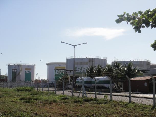 Petrobras terminal in Maceio
