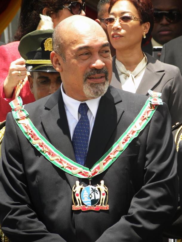 President Desi Bouterse