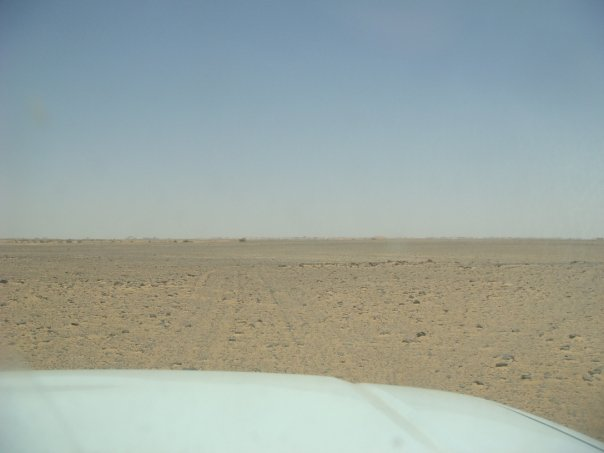 The desert of Sudan
