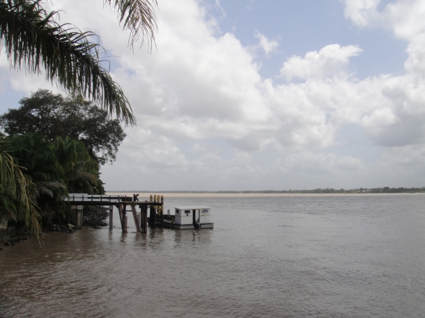 River access to Paramaribo, Suriname
