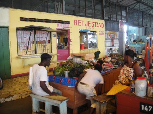 Voodoo market in Paramaribo, Suriname