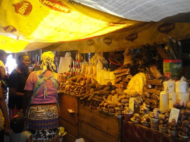 Market in Paramaribo, Suriname