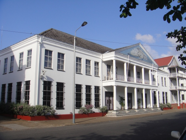 Ministry of Finance in Paramaribo, Suriname