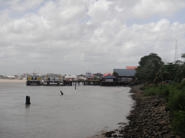 Easy river access for assault on Paramaribo, Suriname