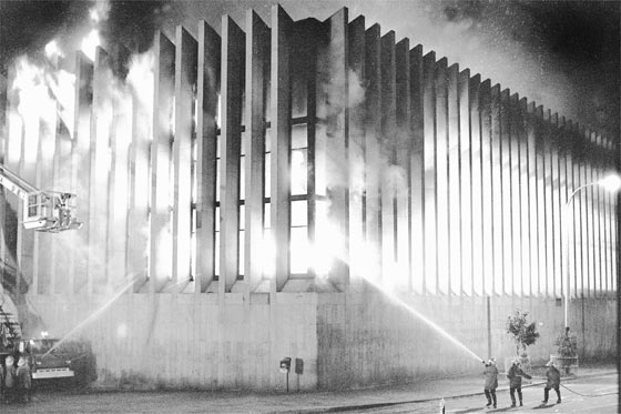 The Bogota Supreme Court burning in the 1985 siege